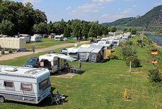 Rheincamping Siebengebirgsblick Empfohlen von Wohnmobilvermietung www. Custom Camper Vans, Custom Campers, Rv Camping, Outdoor Camping, Glamping, Lifetime Tent Trailer, Camping In Deutschland, Rent Rv, Motorhome Interior