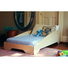 Sodura Zoom Toddler Panel Bed