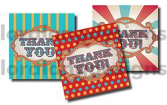 Vintage Thank you notes.