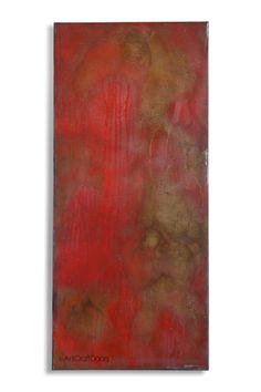 Modern Acid Washed Steel Barn Door in Red by ArtcraftDoors on Etsy https://www.etsy.com/listing/276547104/modern-acid-washed-steel-barn-door-in