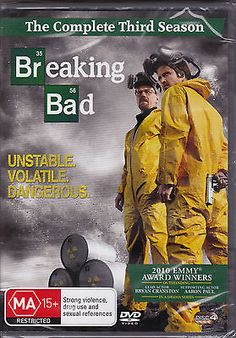 Breaking bad - the #complete third #season - dvd (pal #region 4) brand new sealed,  View more on the LINK: 	http://www.zeppy.io/product/gb/2/111285780133/