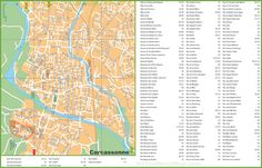 Biarritz streets map Maps Pinterest France and City