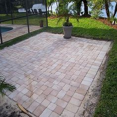 Paver Patio, I Want To Do Something Like This In My Backyard So That I Can  Take My Wheelchair In The Backyard Easier