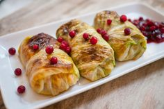 Cabbage Rolls (Kaalikaaryleet)