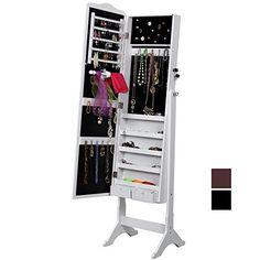 Songmics® 158cm Schmuckschrank Spiegelschrank Standspiegel Schmuckkasten Weiß JBC82W Songmics http://www.amazon.de/dp/B00BMM2JRW/ref=cm_sw_r_pi_dp_tyi8vb0BPY3C5