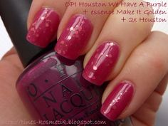 OPI - Houston We Have A Purple, Essence - Make It Golden