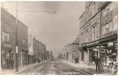Dale Street, after the tram-lines.
