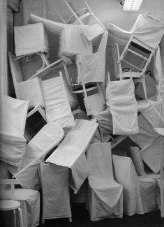 "yama-bato: "" Maison Martin Margiela Headquarters, Paris _ Special installation in the rue Saint-Maur showroom "" Deconstruction, Installation Art, Art Installations, Fashion Installation, Fashion History, 90s Fashion, Architecture Details, Art Direction, Vintage Shops"