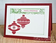 Put back ornament into frame and mount the front and the sentiment