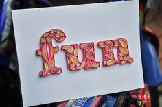 Miyyah@Kertas: Typography