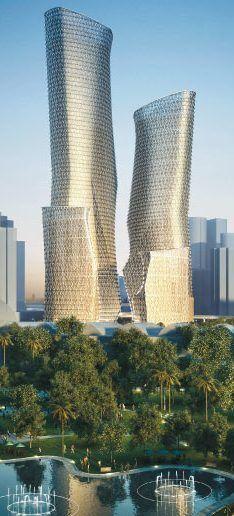 Tradewinds Centre, Kuala Lumpur, Malaysia designed by Kohn Pedersen Fox (KPF) and GDP Architects :: 65 floors, height 300m
