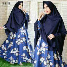 Baju Muslim Syar'i B137 Maxmara Motif Bunga Trendy - https://bajumuslimbaru.com/baju-muslim-syari-b137-maxmara-motif-bunga