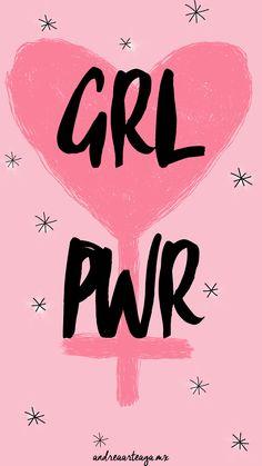 Andrea Arteaga ♡: Wallpapers Girl Power