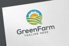 Green Farm by emotions76 on @creativemarket