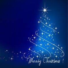 Here Is A Vector Blue Christmas Tree Illustration For Your Desing Name Homepage Graphics License Creative