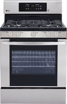 Here's the LG Gas Ranges I'm thinking about adding to the house from Pacific Sales!