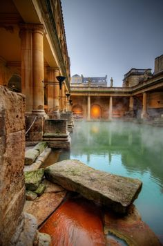 Amazing Snaps: Roman Baths in Bath, England | See more