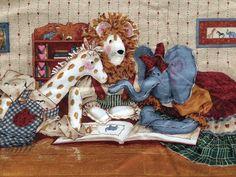 HTF 3779 Toy Chest Daisy Kingdom Border Fabric   | eBay