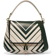 Anya Hindmarch Maxi Zip leather shoulder bag ($615) ❤ liked on Polyvore featuring bags, handbags, shoulder bags, forest green, shoulder bag purse, top handle handbags, shoulder strap handbags, genuine leather handbags and leather shoulder strap handbags