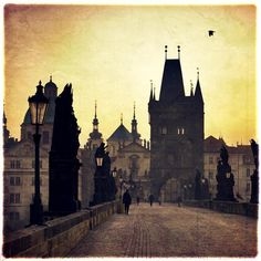 St. Charles Bridge, Prague, Czech Republic. one of my favourite parts of my trip!