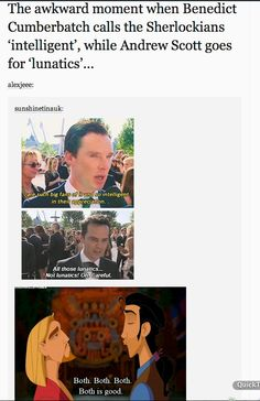 Sherlockians wish to be considered lunatics but they're more accurately described as obsessed and over dramatic.