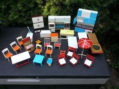alte DDR Puppenstube, Puppenhaus, Holz, 60-er Jahre, Zubehör, Möbel, Konvolut | eBay