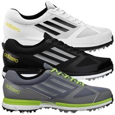 Adidas Adizero Sport Men s Ultra-Lightweight Golf Shoes  119.99 - Free  Shipping 6de6f4974