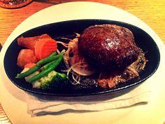 hamburger steak #Japan #Food #Yummy