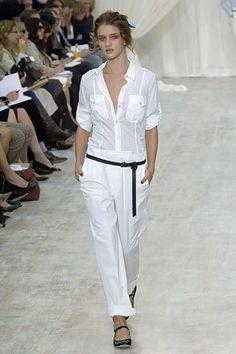 Paul Smith Spring 2006 Ready-to-Wear Fashion Show - Rosie Huntington-Whiteley