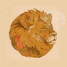 Рыжий лев