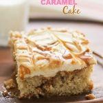 Butter Pecan Caramel Cake
