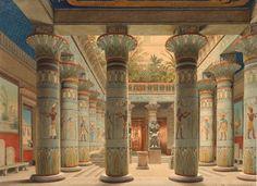 arte - Eduard Gaertner (Germania, Berlino 1801-1877 Zechlin):