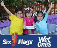 Keep Little Hands Clean and get a Six Flags® Kids Ticket Offer!   Macaroni Kid