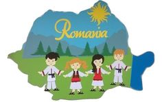 Romania Kindergarten Activities, Preschool, Romania Map, Visual Map, Worksheets For Kids, 1 Decembrie, Eastern Europe, Sunday School, Coloring Books