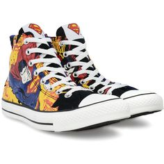 CONVERSE Dc Comics Hi shoes ($29) ❤ liked on Polyvore featuring men's fashion, men's shoes, men's sneakers, shoes, converse, sneakers, superman, converse mens shoes, mens leopard print shoes ve converse mens sneakers