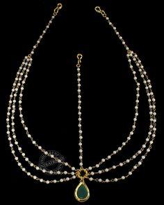 Nida Mathapatti Headpiece - Hair Accessories - Jewelery