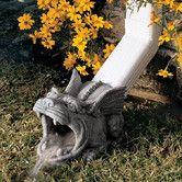 Found it at Wayfair - Roland The Gargoyle Rainspout Statue