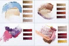 The 4 Color corners that make-up this fabulous New MAGMA line