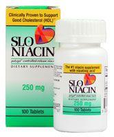 Slo-Niacin Polygel® Controlled Release Niacin