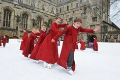 Winchester Cathedral's Christmas Market & Ice-rink