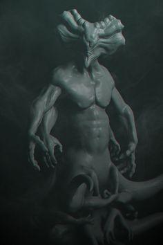 God of Infinite Agony , Oliver Horschel on ArtStation at https://www.artstation.com/artwork/WgPNX