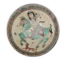 Seljuk period pottery All Seljuk History ( Pottery Plates, Ceramic Plates, Ceramic Pottery, Turkish Tiles, Turkish Art, Blue Horse, Paper Drawing, Tile Art, Ceramic Artists