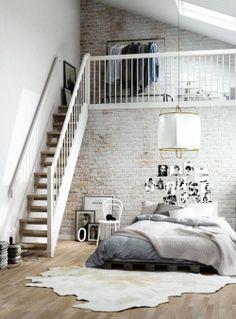 bedroom design Home architecture Interior Interior Design house interiors loft decor living