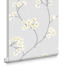 Radiance Grey and Ochre Wallpaper, , large