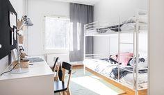 YH-Kodit lapsiperhe makuuhuone