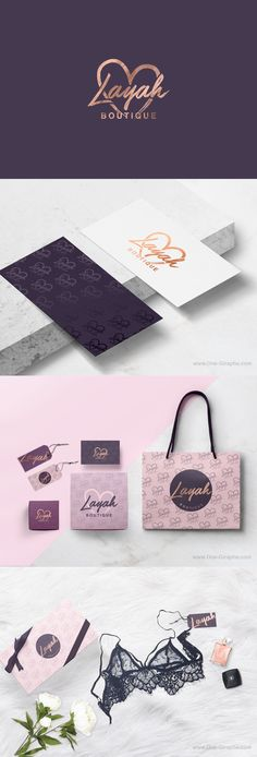 Lingerie Boutique #lingerie #branding #brand #logo #logodesign #logodesigner #designer #behance #etsy   http://one-giraphe.com/prev.php?c=200