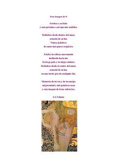 José Ángel Valente y Gustav Klimt
