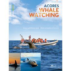 """""""Açores Whale Watching"""". Os Açores, nove pontos verdes na imensidão do Oceano Atlântico, são hoje considerados um dos melhores destinos para a observação de cetáceos a nível mundial. As límpidas águas dos seus mares, abundância de alimento, ausência de poluição à larga escala e a protecção legal dada aos cetáceos, tornam os Açores num verdadeiro santuário para 24 diferentes espécies."""