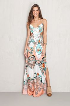vestidos primavera 2017 longos