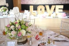 light up letters at the granary barns wedding, newmarket Suffolk